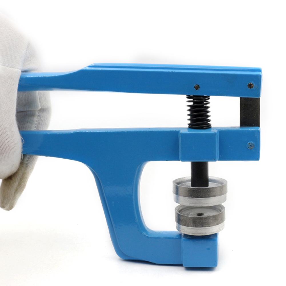 Back Closer Watch Tools Repair Press Stud Press Set Watchmaker Kit Blue Case Containing 9 Plastic Molds High Quality