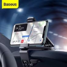 Baseus – Support de téléphone portable pour voiture, montage de tableau de bord pour iPhone 11 pro Xs Max, pour Samsung Xiaomi Huawei