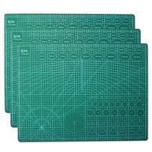 Kesme Mat PVC ped kesme tahtası Patchwork dikiş aracı DIY deri el sanatları çift taraflı ped taban plakası çalışma aracı kiti A2A3A4