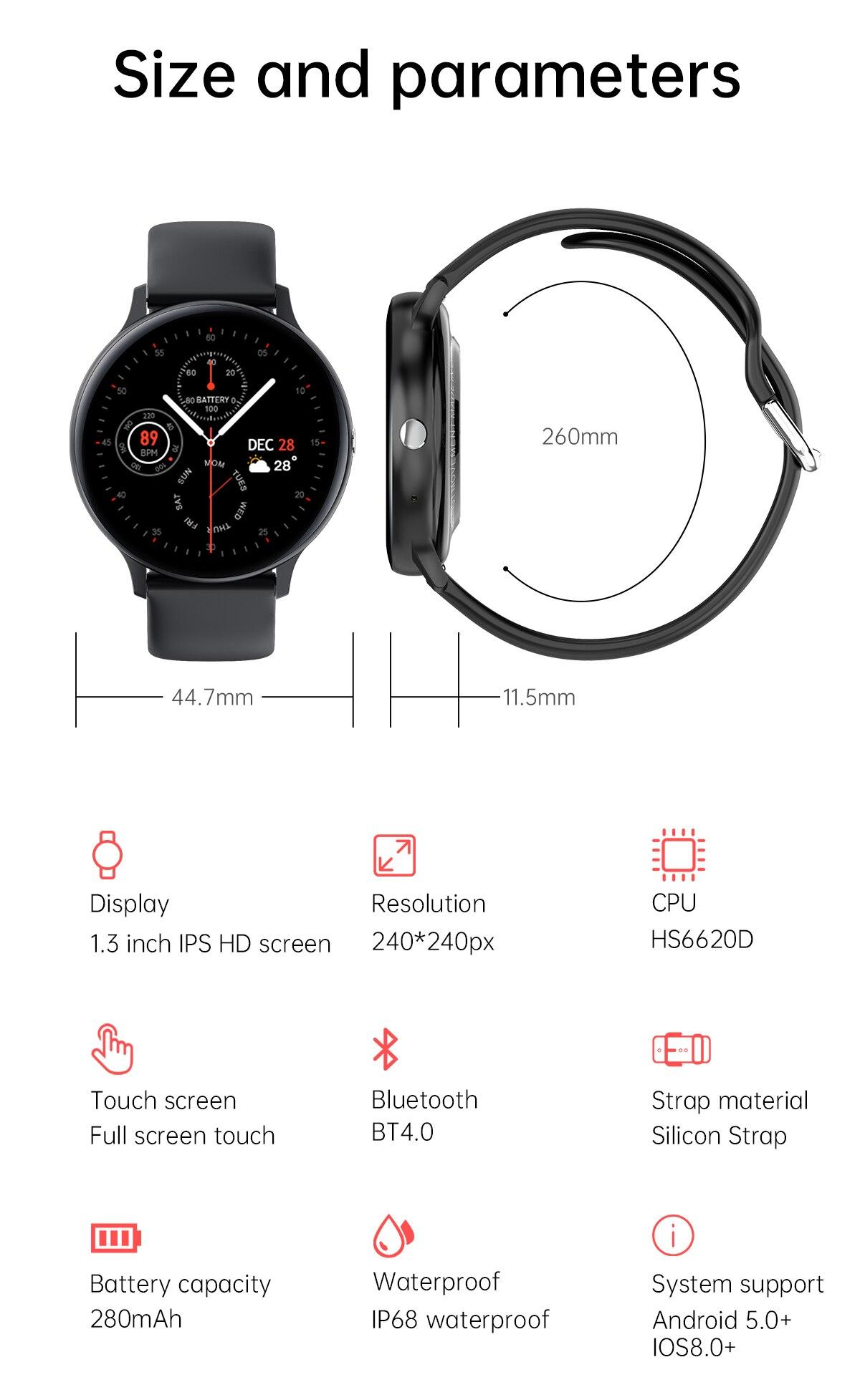 He9a30d7aa9b24ba39074b7aa65508c002 LIGE 2021 New Bluetooth call smart watch men women Sport mode Heart rate and blood pressure monitor Activity tracker Smartwatch