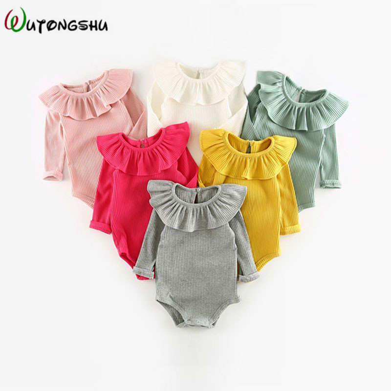 Baby Girl Clothes Autumn Newborn Baby   Rompers   Infant Baby Girl Boy Jumpsuit Spring Warm Baby Costume Clothing Baby   Romper
