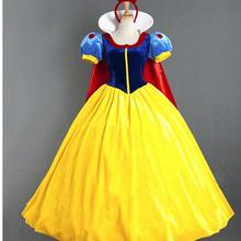 Adult-Costume Snow-White Princess Girls Dress Women Halloween for Party Carnival