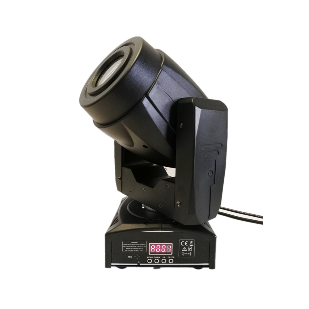 75W Gobo LED Moving Head Light 3 Face Prism DMX Controller 4/15 Channel For Stage Theater Disco Nightclub Party