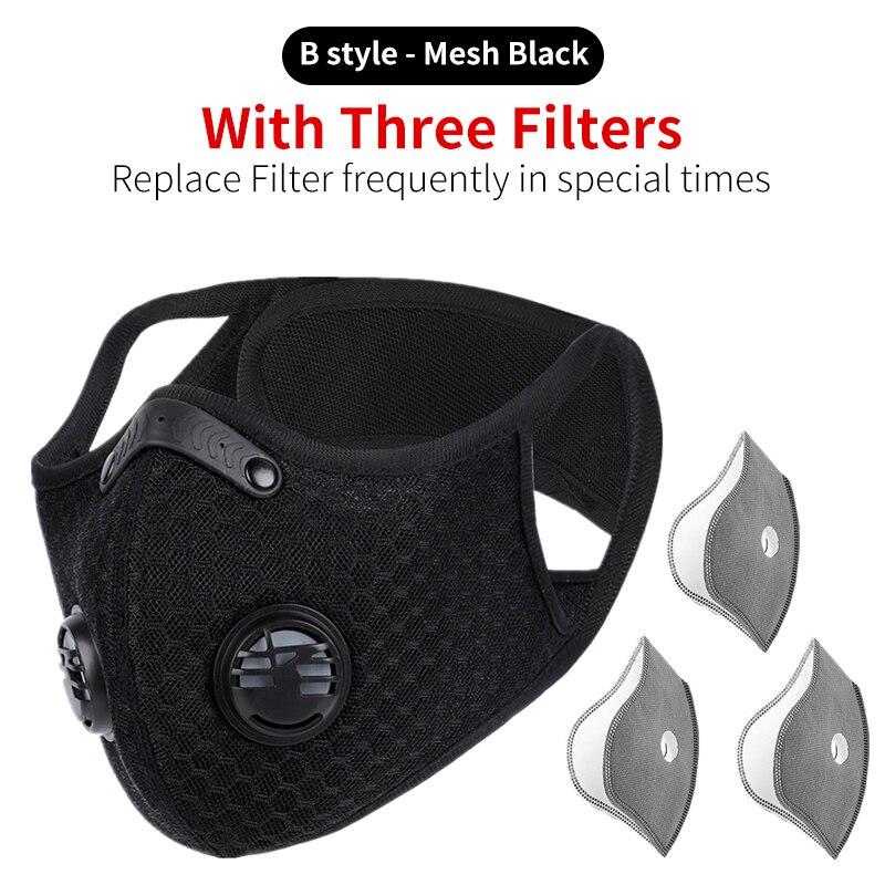 B Black 3 filters