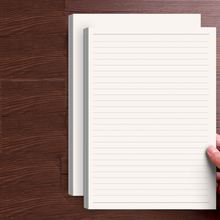 50 листов a4/b5/a5 белая буквенная бумага для письма канцелярские