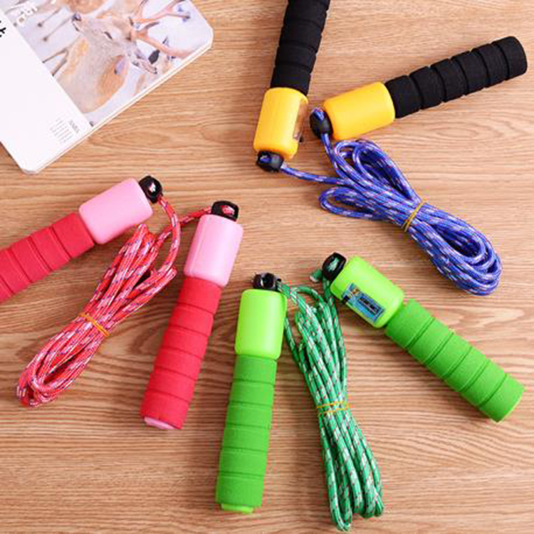 Profession Count Jump Rope Adult Pattern Skipping Rope Students The Academic Test For The Junior High School Students Fitness Ou