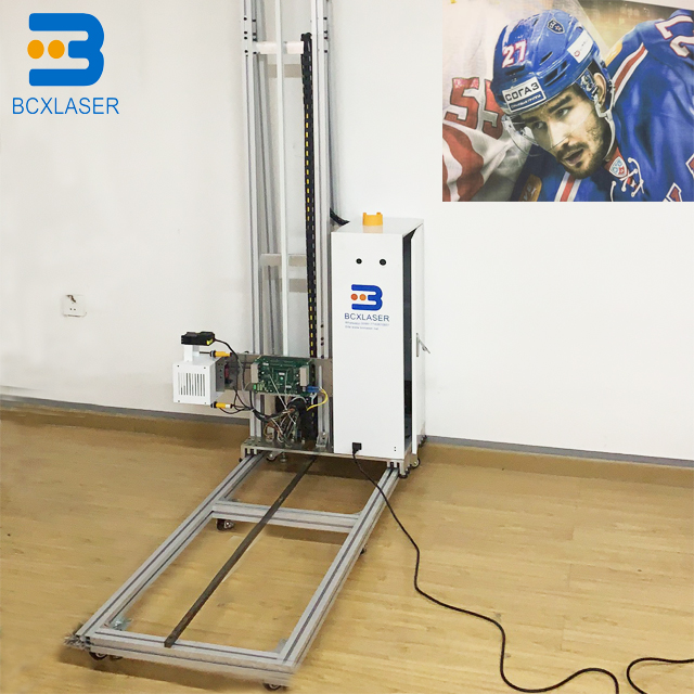 Vertical 5d Wall Inkjet Mural Printer Print On Wall Direct To Wall Home Printing Machine Price