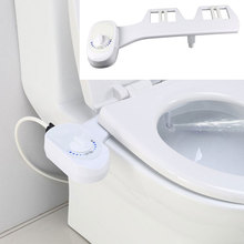 Non-Electric Bidet Toilet Seat Bidet Accessories Automatic Cleaning Water Sprayer Mechanical Nozzle Washing Ass Washing Gun New non electric bidet toilet attachment fresh water mechanical sprayer ass washer implement simple clean body irrigador orr