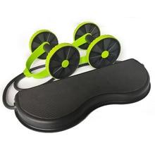 AB колеса ролик растягивающийся эластичный брюшной сопротивление тяга инструмент для веревки AB ролик для брюшной мышцы Тренажер Упражнения