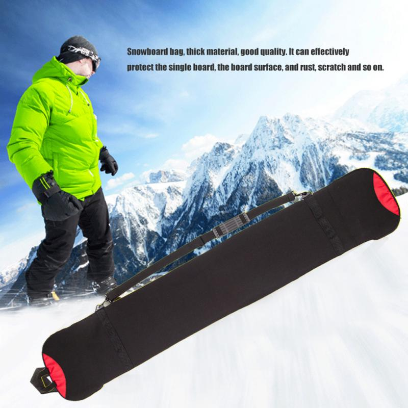 New Snow Board Skiing Holdall Carry Case Shoulder Bag 140cm Anti-scratch Rust Protective Cover Sleeve Snowboard Protection Bag