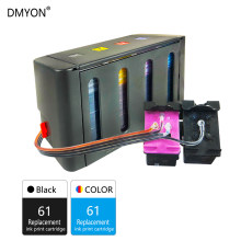 Dmyon Kompatibel untuk HP 61 Terus Menerus Ink Supply Sistem Deskjet 1000 1010 1011 1012 1050 1051 1055 1056 1510 1511 1512 Printer(China)