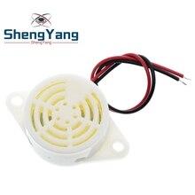Шэньян 1 шт./лот 95DB сигнал тревоги высокой частоты 3-24V 12V Электронный звуковой сигнал тревоги прерывистый непрерывный звуковой сигнал для ...