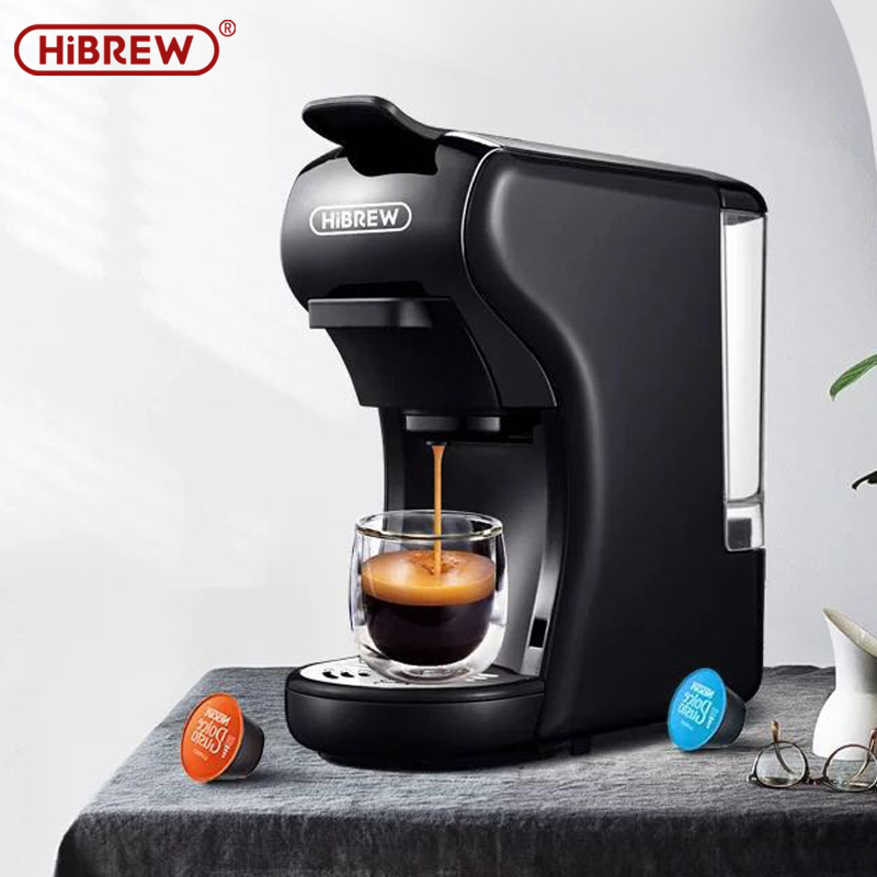 HiBREW Capsule Coffee Maker  Espresso Machine, Multi Capsule Coffee Maker Dolce Gusto Capsule Machine