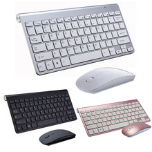 2.4G Wireless Keyboard and Mouse Combo for Laptop, PC, Computer, Mac, Desktop, Windows, Smart TV, PS4