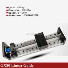 500mm 600mm Effektive Reisen Hub 1605 1610 Kugelumlaufspindel 16mm Linear Guide Motion Modul Schiene Tisch CNC 3D drucker Z Achse c strahl