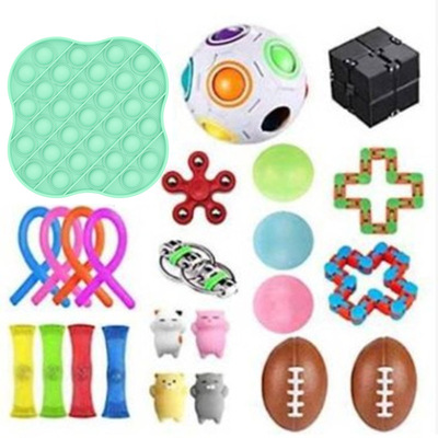 Fidget-Toys Autism Decompression-Toy Stress Anxiety Adults Pop for Kids 31PCS Bubble img3
