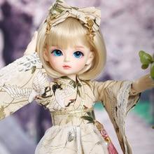 دمية Mien BJD YOSD موديل 1/6 نموذج جسم الطفل بنات أولاد ألعاب عالية الجودة مجسمات من الراتنج