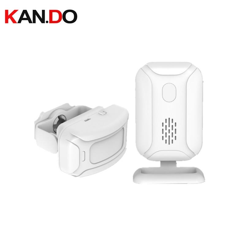 850A 200m Working Wireless Sensor Alarm Wireless Door Bell W/ Sensor Function Motion Detection Alarm Body Detection Alarm Chime