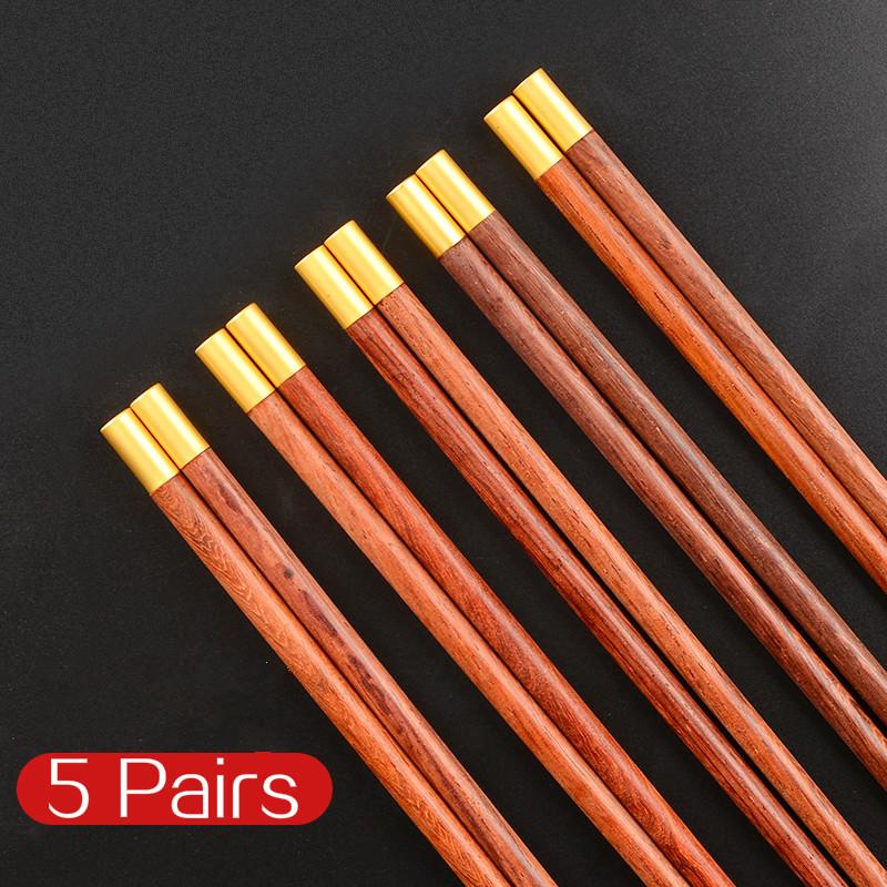 Деревянные палочки для Суши Палочки еды посуда портативная Подарочная