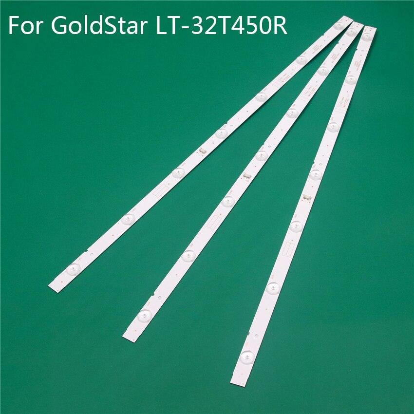LED TV Illumination For GoldStar LT-32T450R V1R10 LED Bars Backlight Strips Line Ruler 5800-W32001-3P00 0P00 Ver00.00 RDL320HY