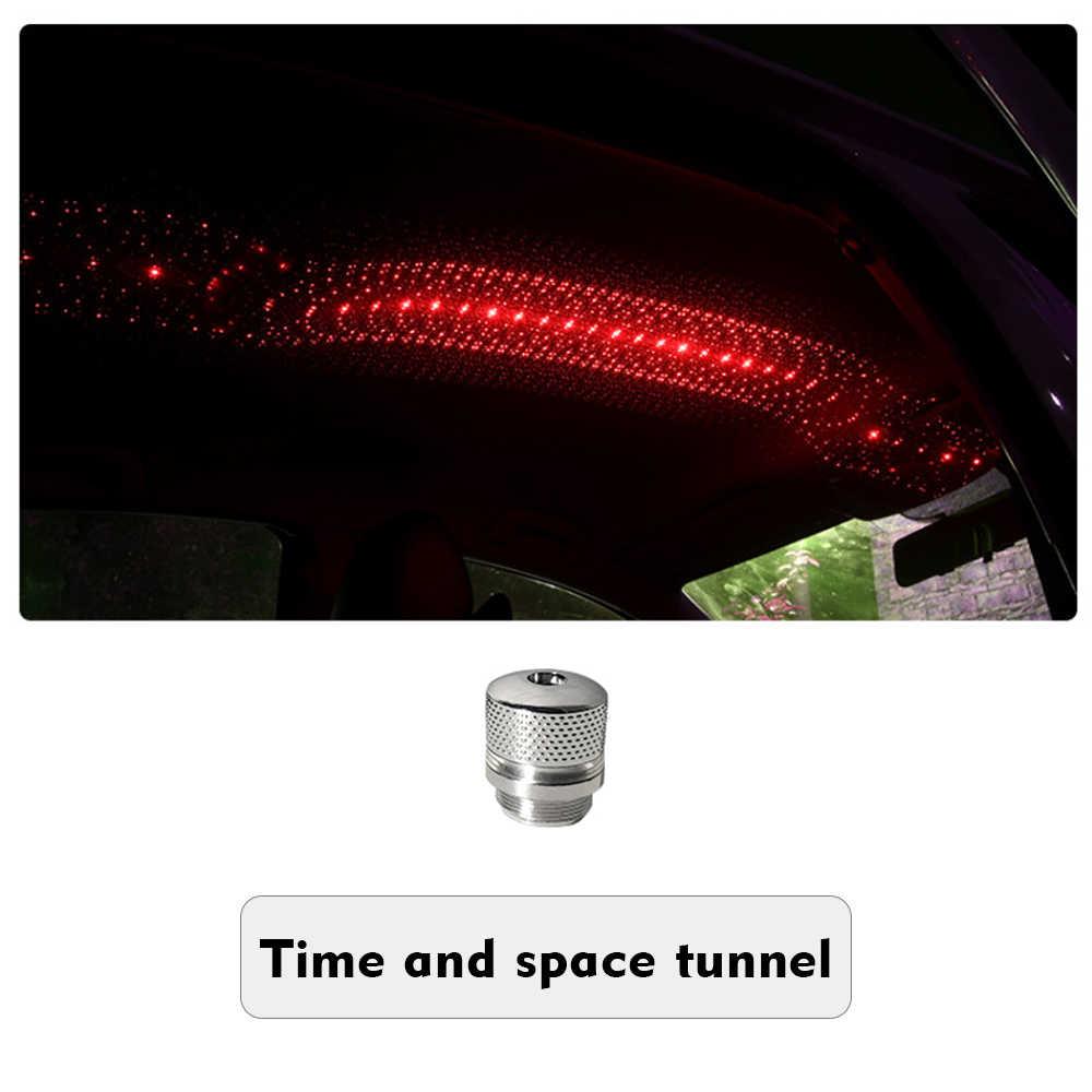 Romantische LED Auto Dach Star Night Licht Flexible USB Nacht Lampe Mehrere Lichteffekte Atmosphäre Galaxy Lampe Projektor Licht