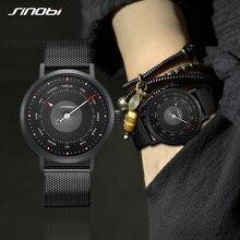 SINOBI New Arrival Creative Watch Mens Sports Watches Mans Quartz Wrist Male Military Waterproof Casual Clock Relogio