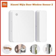 Xiaomi Mijia Door Window Sensor 2 Connexion sans fil Verrou de sécurité intelligent Sécurité à la maison intelligente Détecteur d'alarme antivol Mijia App Bluetooth 5.1 Rappel des enregistrements de détection