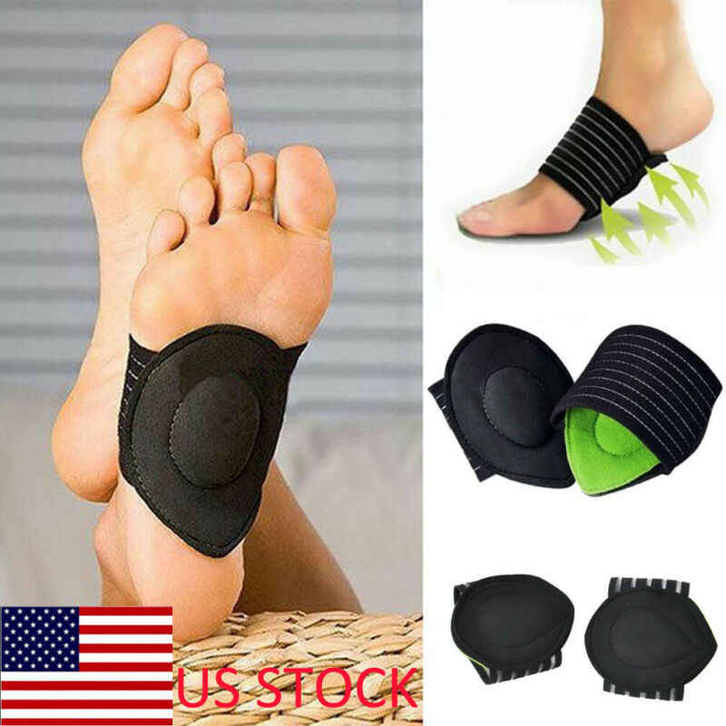 Foot Insoles Arch Support Plantar Fasciitis Heel Feet Cushion Fallen Heel Pain