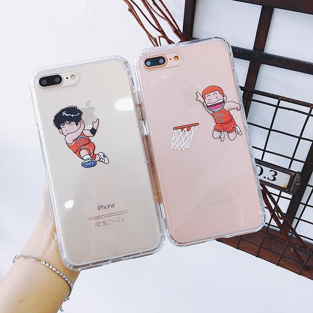 Japan Anime Cartoon trapeze Basketball Slam Dunk Phone Case for iPhone