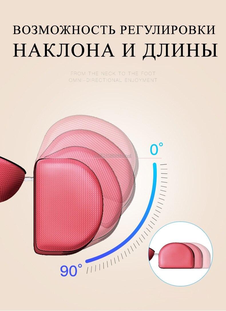 Massagem multifuncional pescoço encosto elétrico cintura traseira