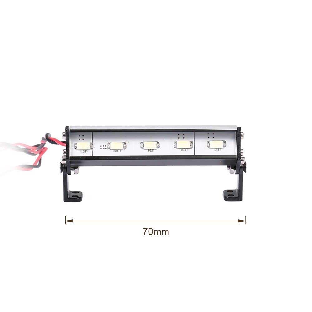70 мм RC фары дальнего света для Traxxas Rustler Bandit Nitro Rustler Jato Redcat 3,5 ECX 1/18 Roost