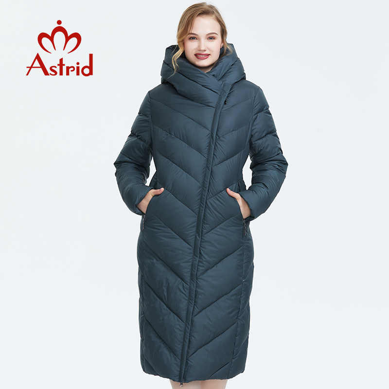 Astrid 2019 Winter new arrival down jacket women with a hood loose clothing outerwear quality thick cotton fashion coat AR-7053