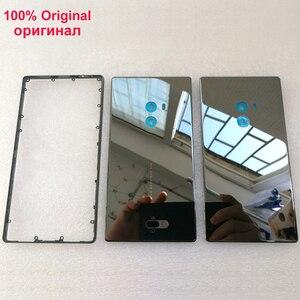Image 1 - 100% Orijinal Axisinternational Xiao mi mi mi x/mi mi x Pro 18K sürümü Cera mi c ön mi ddle ddle Çerçeve çerçeve + Arka Pil Kapağı durumda