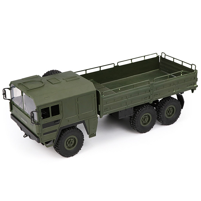 abay 2019 hot Q64 1 / 16 2.4G 6WD RC Car Military Truck RTR Toy YH-58