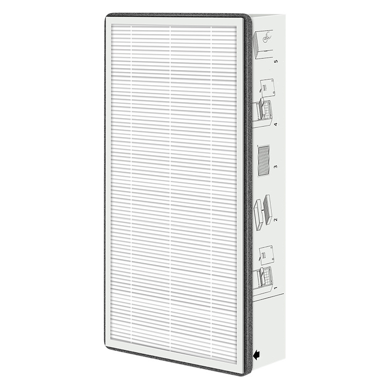 Air System Filter For Xiaomi MJXFJ-300 Air Vent Medium Dust Dirt Filtration Cleaning Parts Home Appliance Parts