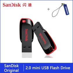 Sandisk Pendrive 128gb 64gb 32gb 16gb Mini USB Flash Drive 32 64 128 16 GB Pen Drive 2.0 USB Stick Disk on Key Memory for Phone