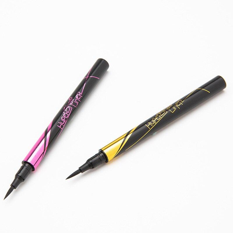 New 1PC 15ml Waterproof Eyeliner Hard Head Quick Dry Sweatproof Not Blooming Long Lasting Eye Cosmetics Black/Brown TSLM2