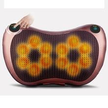 Almohada de masaje masajeador de cuello eléctrico multifuncional hombro infrarrojo terapia de calentamiento masaje con acupuntura relajación