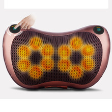 Massage Pillow Electric Neck Massager Multifunctional Shoulder Infrared Heating Therapy Acupuncture Massage Relaxation