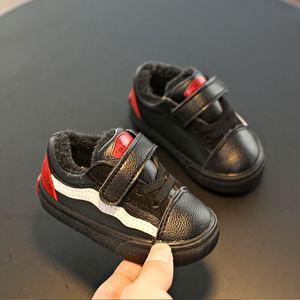 Image 3 - Babaya 아기 겨울 신발 여자 부츠 유아 겨울 신발 따뜻한 플러스 벨벳 2020 새로운 1 6 세 소년 어린이 면화 신발