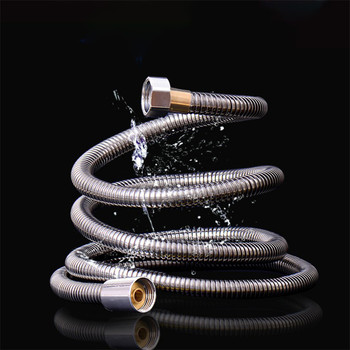 1/1.5/2/3m Shower Hose for Bath Shower Pipe Flexible Shower Hose Stainless Steel High Pressure Bathroom Accessories