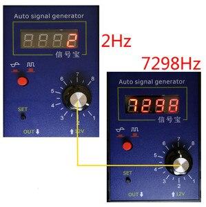 Image 3 - Automobile Auto Vehicle Signal Simulator Generator Car Hall Sensor Crankshaft Position Sensor Signal Tester Meter 2Hz To 8KHz
