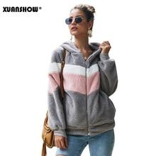XUANSHOW 2019 Winter Keep Warm Clothes Women Hoodies