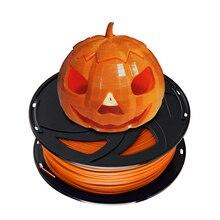 XVICO PLA 3d принтер PLA/ABS нить для экструдер-ручка, 1,75 мм Точность ±0. 02 мм 1 кг/2.2lb катушки многоцветный для RepRap, orange