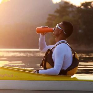 Image 3 - Xiaomi KKF فراغ زجاجة 24h العزل كأس الترمس الفولاذ المقاوم للصدأ الترمس قارورة 475 مللي السفر القدح المحمولة الرياضية الباردة كوب