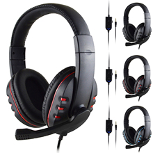 Stereo Wired Headset Gamer PC 3.5mm PS4 Headset Surround Sound And High-Definition Microphone Stereo For Laptop Tablet