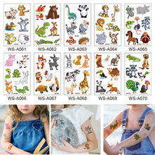 Childrens Temporary Tattoos Kids Party Bag Birthday Stocking Fillers Toys Cartoo