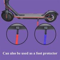 Freio guiador capa para xiaomi m365 scooter elétrico acessórios anti deslizamento durável de travagem guiador protetor de silicone|Peças e acessórios p/ scooter| |  -