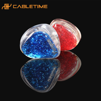 CABLETIME HIFI Earphone Wired 0.78 Interface 3.5mm Bright and Transparent High-frequency Headphone 1.2M C275