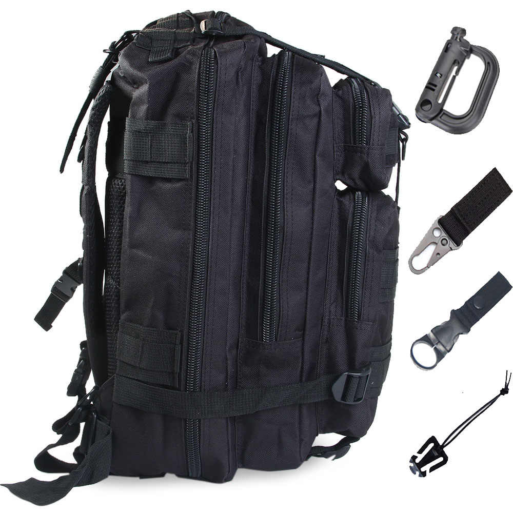 Molle Tactical Bag Military Assault Backpack Army Outdoor Camo Hiking Camping Bag Waterproof Rucksack Hunting Accessories